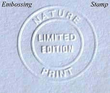 Limited Edition Prints stamp