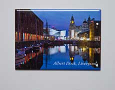 Fridge Magnet: The Albert Dock, Liverpool