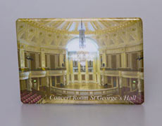 Fridge Magnet: Concert Room at St Georges Hall