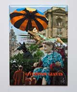 Fridge Magnet: Liverpool Giants Montage