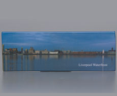 Fridge Magnet: Liverpool Waterfront