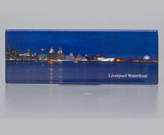 Fridge Magnet: Liverpool Waterfront Twighlight