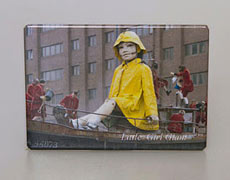 Fridge Magnet: Little Girl Giant