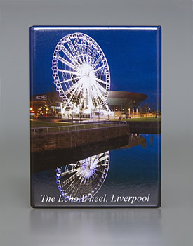 Fridge Magnet: The Echo Wheel, Liverpool