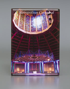 Fridge Magnet: Inside the Metropolitan