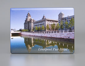 Fridge Magnet: Pier Head, Liverpool