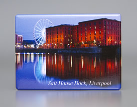 Fridge Magnet: Salthouse Dock and Wheel
