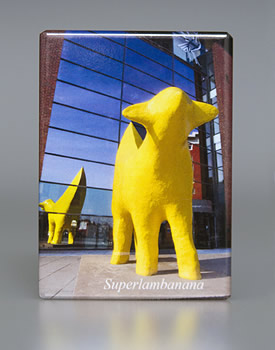 Fridge Magnet: Superlambanana