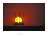 Gas Rig at Leasowe - click to zoom