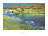 Autumn River, Wastwater - click to zoom